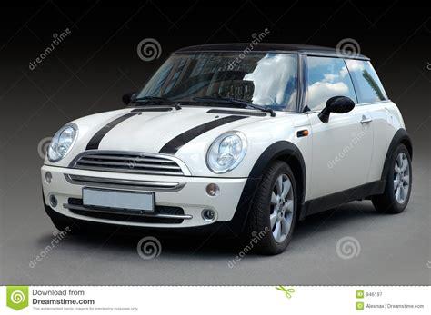 Car Image White Mini Car Stock Image Image Of Classic
