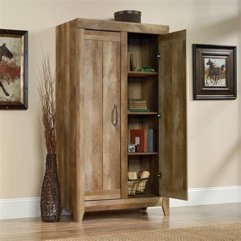 oak kitchen storage cabinet adept 2 door storage cabinet in craftsman oak 418141 3582