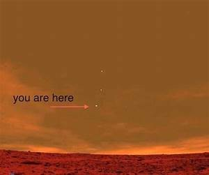 The view of earth from planet Mars | Space Explorer ...