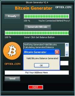 Segwit addresses use the segregated witness feature, allowing users to send transactions for a lower fee. Download bitcoin generator - Bitcoin Free Generator found download on on a forum www ...
