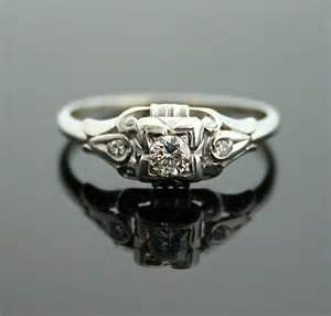1930 engagement rings 1930s engagement ring white gold and antique ring