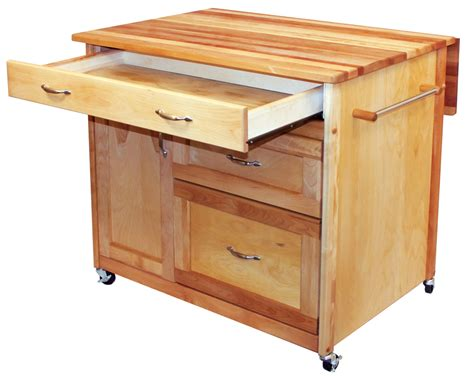 kitchen island with drawers catskill drawer island drop leaf and storage