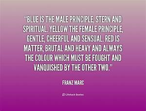 FRANZ MARC QUOTES image quotes at relatably.com