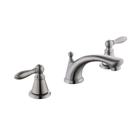 Who Makes Glacier Bay Faucets by Glacier Bay 2500 Series 8 In Widespread 2 Handle Bathroom