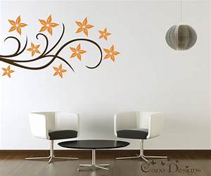 floral design vinyl decal wall decals stickers removable With awesome design wall decals online