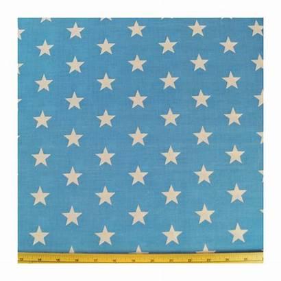 Polycotton Fabric 27mm Stars Starry Sky