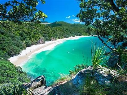 Beaches Zealand Beach Coromandel Chums Nz Bay