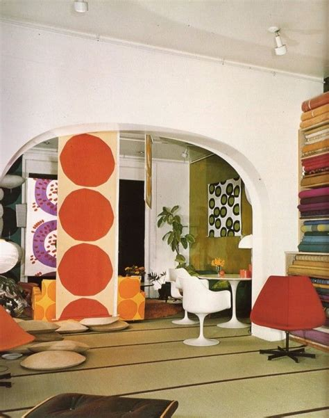 105 Best 60s And 70s Interior Design Images On Pinterest