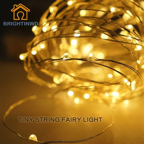 brightinwd led garland indoor string lights 10m