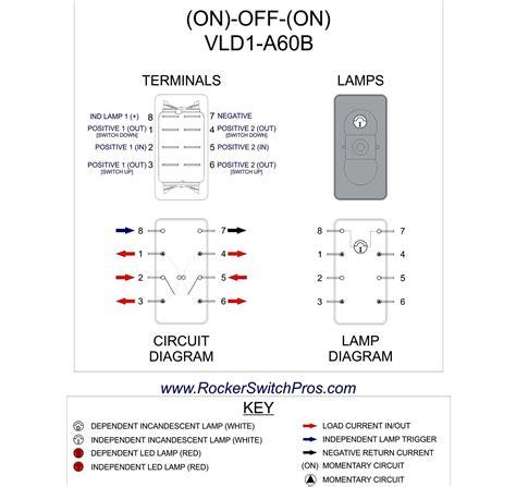 dorman 84944 8 pin rocker switch 12 volt wiring diagram