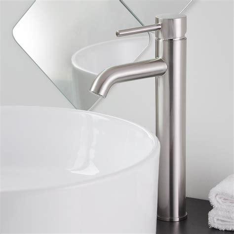 12 quot bathroom vessel sink faucet chrome brushed nickel oil