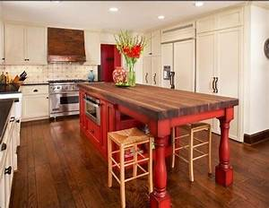 20 beautiful kitchen cabinet colors a blissful nest With best brand of paint for kitchen cabinets with wall art red