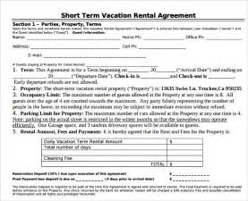 Basketball Cover Letter Vacation Rental Agreement 8 Documents Free In Pdf Word