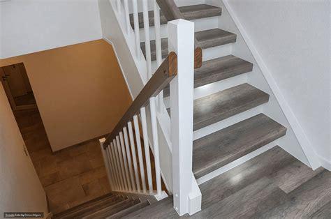 treppenrenovierung mit laminat treppenrenovierung treppensanierung selber machen mit tresabo laminatstufen