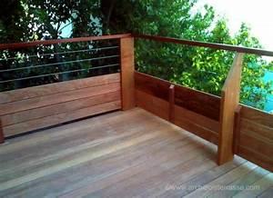 Balustrade En Bois : rambarde bois terrasse exterieur tv42 jornalagora ~ Melissatoandfro.com Idées de Décoration