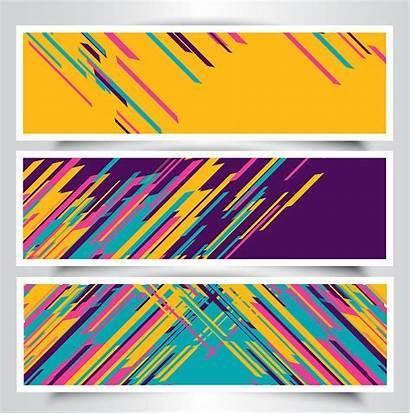 Banner Modern Designs Vector Graphics Clipart