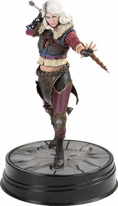 Ciri Witcher Dark Horse Statue Hunt Wild