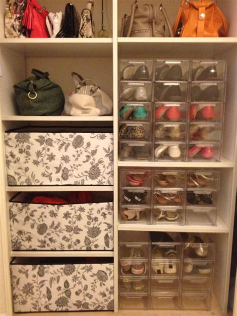 Storing Shoes In Closet by 272 Best Images About Shoe Storage On Shoe