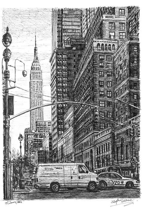 street scene   street  york original drawings