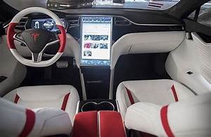 2021 Tesla Model S White Interior - Car Wallpaper