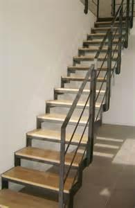 Escaliers Bois Metal by Photo D107 Esca Droit 174 Escalier Design D Int 233 Rieur En