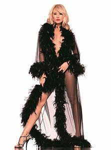 glamour feather robe envy body shop With robe glamour et sexy