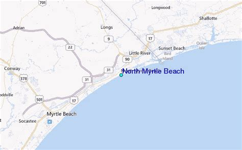 north myrtle beach tide station location guide