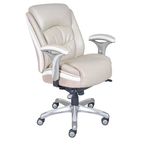 serta leather managers chair office chair serta smart layers premium elite manager