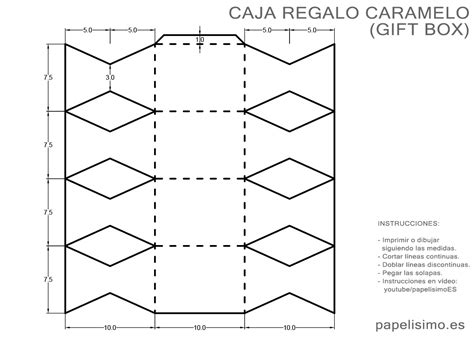 Halloween Washi Tape by Caja Con Forma De Caramelo De Papel Con Medidas Papelisimo