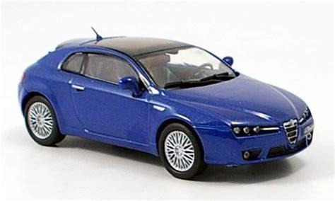 Alfa Romeo Brera Blue 2005 M4 Diecast Model Car 1/43