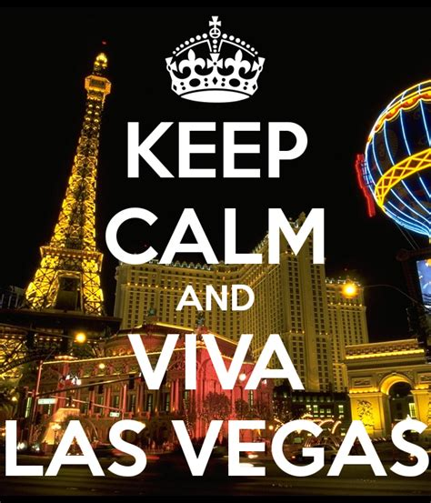 Keep Calm And Viva Las Vegas Poster  Andrea  Keep Calmo