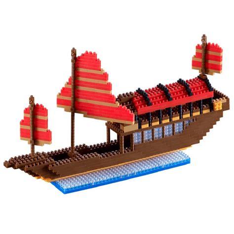 Puzzle Boat by Nano 3d Puzzle Big Junk Boat Advance Level 5 Brixies