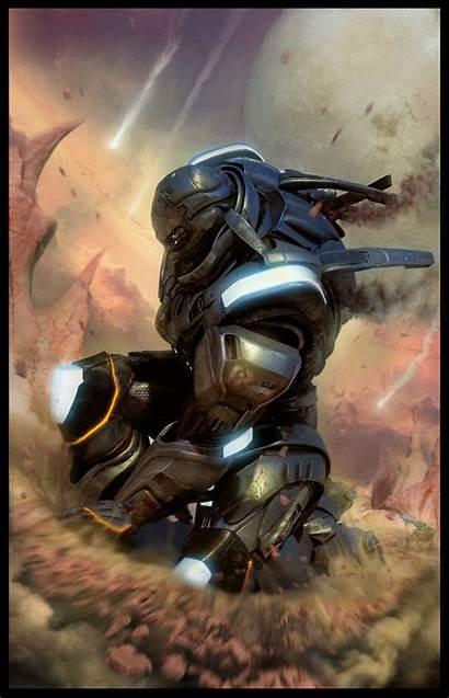 Sci Fi Armor Concept Futuristic Soldier Designs