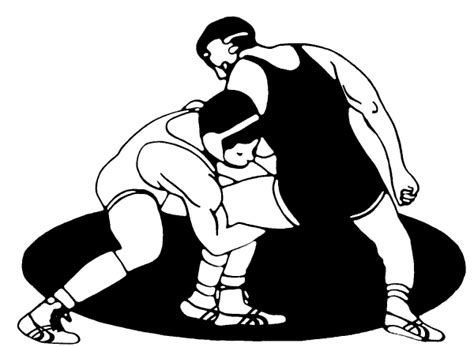 Free Wrestling Clip Art Pictures