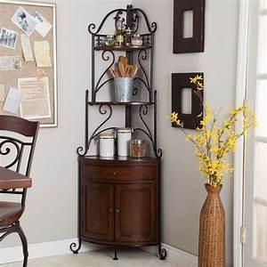 etagere en fer forge pour une deco pleine de caractere With porte d entrée alu avec meuble d angle bois salle de bain