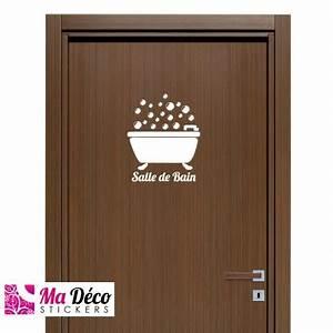 Stickers Porte Salle De Bain : sticker bain pas cher accueil discount stickers muraux ~ Dailycaller-alerts.com Idées de Décoration