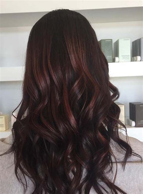 Warm Black Hair Dye by Top 30 Chocolate Brown Hair Color Ideas Hair Chocolate