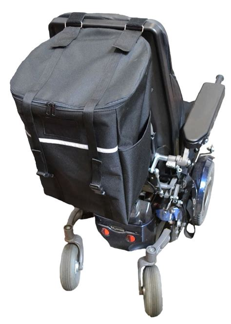 Diestco Monster Seatback Bag for Mobility Scooter or Power