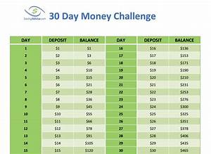 Save Nearly $500 with the 30 Day Money Challenge ...