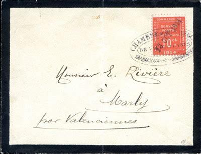 chambre du commerce valenciennes 10 c valenciennes tb timbre philatélie