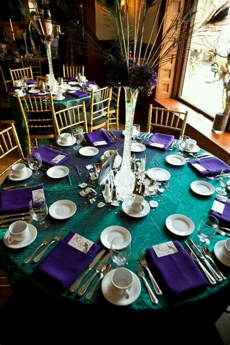 137 Best Images About Purple & Turquoise Wedding On