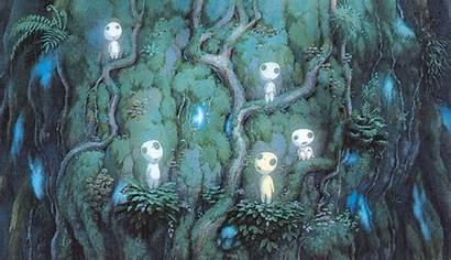 Mononoke Princess Nature Hayao Ghibli Spirit Miyazaki