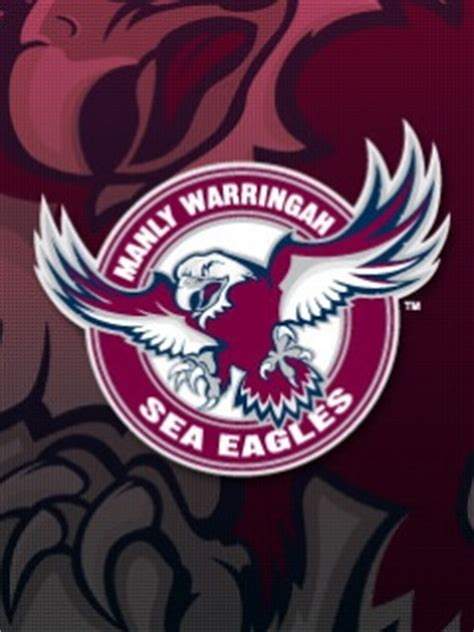 Manly warringah sea eagles coach des hasler has cut his squad for tomorrow's match against the gold coast titans at lottoland. Download Manly Sea Eagles Wallpaper 240x320 | Wallpoper #110341