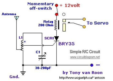 Very Simple Radio Control Schematic Design