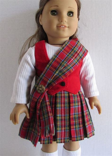 scotlands traditional kilt sash shirt  vest