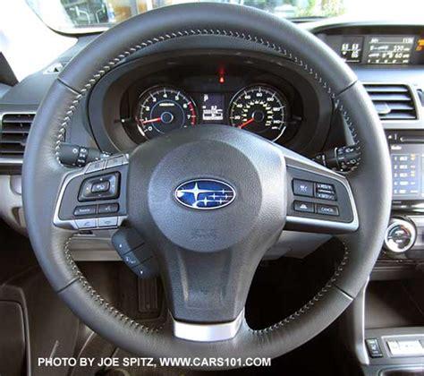 subaru forester steering wheel 2016 subaru forester interior photos