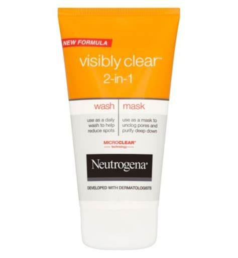 The Way The Cookie Crumbles Neutrogena Visibly Clear Review