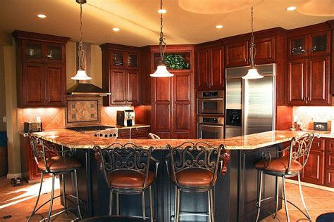 black kitchen island with seating wood floor white kitchen cherry wood kitchen island