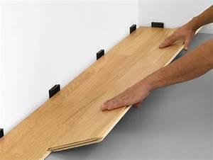 poser du parquet flottant travauxcom With poser un parquet clipsable