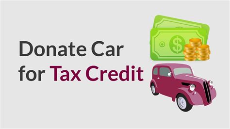 If I Donate A Car Is It Tax Deductible by Donate Car For Tax Credit